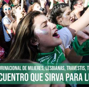 34° Encuentro Plurinacional de Mujeres, Lesbianas, Travestis, Trans y No Binaries.