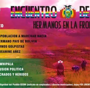 Encuentro de Pueblos Hermanos en la Frontera entre Argentina y Bolivia