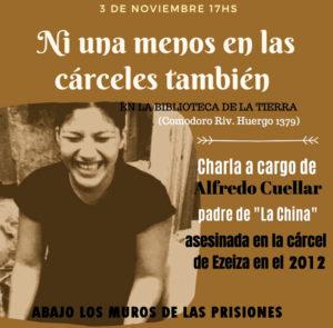 Charla-debate sobre las mujeres en prisión