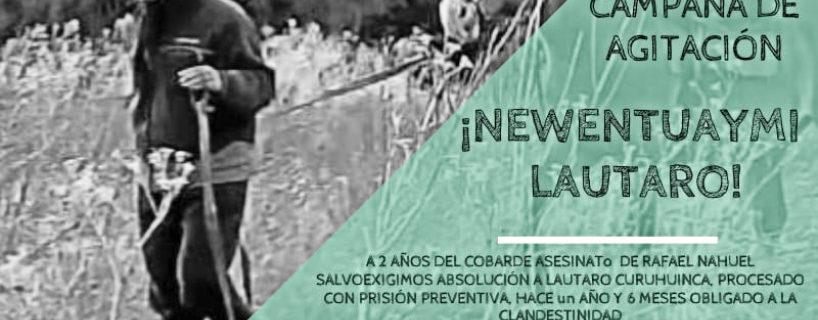 ¡Basta de persecución a Lautaro Curuhuinca!