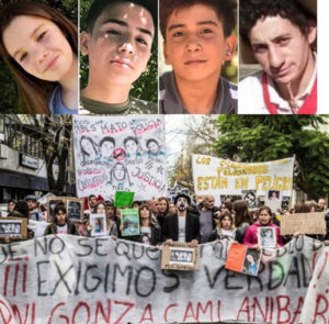 Monte: ¡Justicia para Camila, Gonzalo, Danilo y Aníbal! ¡Fuerza Rocío!