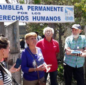 Incendio de la APDH: «Esto no nos atemoriza, nos fortalece para continuar»