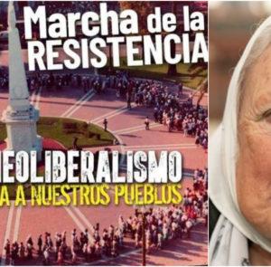 39° Marcha de la Resistencia de Madres de Plaza de Mayo Línea Fundadora