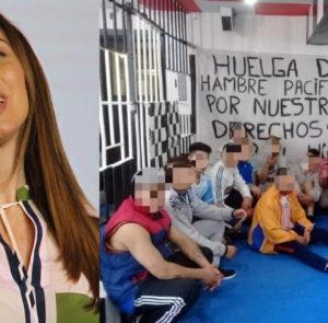 Reclamo a María Eugenia Vidal por hambre extrema en cárceles, comisarías y alcaidías provinciales