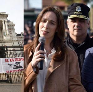 Balance represivo de la gestión de Vidal y Ritondo