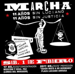 Sábado 1 de febrero desde las 17 horas en Mosconi y General Paz, Lomas del Mirador.