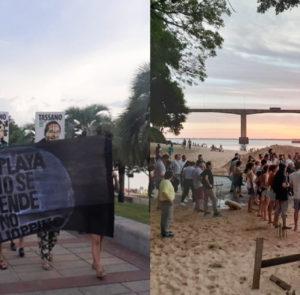 Amplio movimiento en defensa de la costa del Paraná