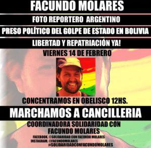 Marcha por la libertad y repatriación a la Argentina