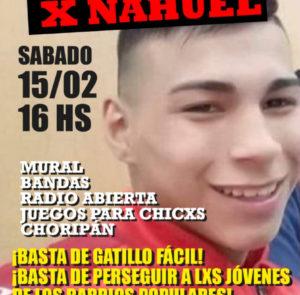 ¡Justicia para Nahuel Acosta!