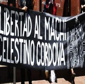 12 días de Huelga de Hambre en cárcel de Temuco: Por el derecho de vida del machi Celestino Córdova y todos los Presos Políticos Mapuche.