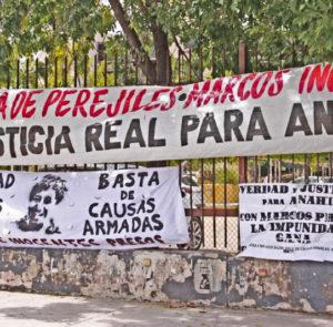 «Ningún elemento de la fiscalía pudo probar una relación directa o indirecta de Marcos con Anahí».