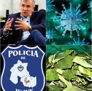 La policía narco de Jujuy propaló el virus en la provincia que regresó a fase 1 de la cuarentena