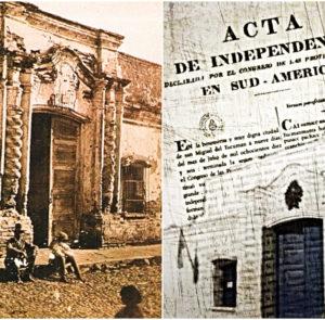 Independencia de España, sometimiento a Inglaterra y a Estados Unidos, sucesivamente