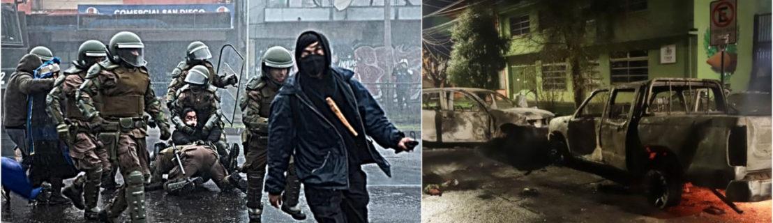 Presos políticos mapuche inician huelga seca en cárcel de Angol: El racismo y la violencia crecen en la calles