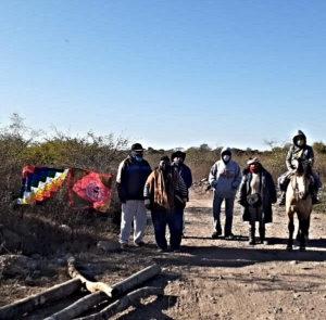 Amenaza de desalojo a la comunidad Tusca Pacha de los Alisos