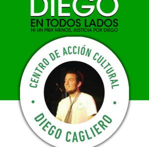 ¡Ni calladxs, ni aisladxs: Diego en todos lados!