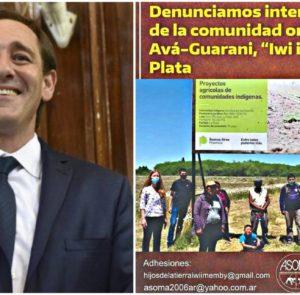 La municipalidad quita tierras a comunidad Ava Guaraní para dárselas al Club Gimnasia y Esgrima