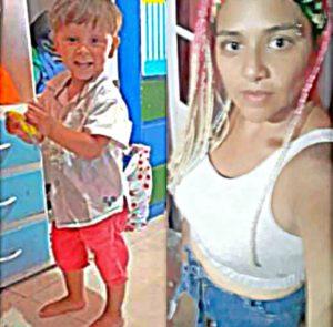 Buscamos a Grisel Medina y a su hijo Máximo, desaparecidos desde el domingo 27
