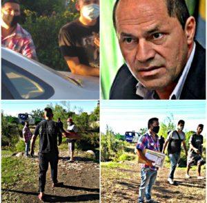 Con órdenes del intendente de Ensenada, Mario Secco, una patota de civil y la Policía Bonaerense golpearon, amenazaron y detuvieron a dos jóvenes ambientalistas y a la madre de la muchacha para quitarles la tierra