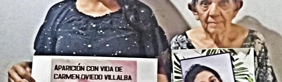 Flyers y videos masivos por la ¡Aparición con vida de Lichita, YA¡