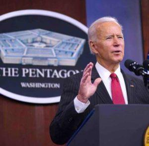 Primeros muertos bajo las bombas de Joe Biden