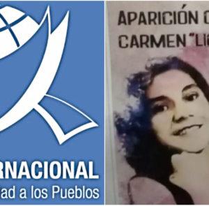 Mujeres de todo el mundo exigen al presidente paraguayo la aparición con vida de Lichita