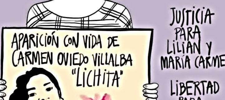 Aparición con vida de Lichita, justicia por Lilian y María porque Eran Niñas