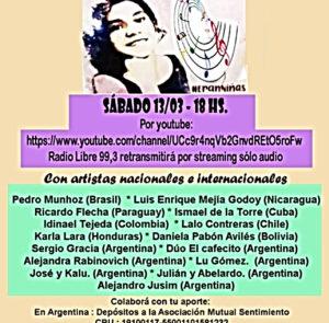 Peña solidaria: Aparición con vida de Lichita