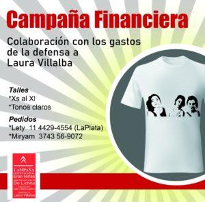 Laura Villalba, presa  por maternar