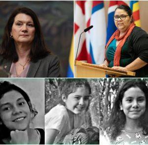Interpelación en el Parlamento sueco por Lichita, Lilian y María Villalba
