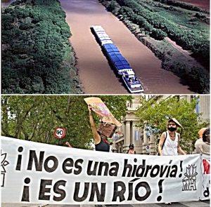 Prorrogaron por 90 días la concesión privada de la Hidrovía Paraná