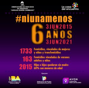 Informe de Investigación de Femicidios en Argentina: 3 de junio 2015 a 2 de junio 2021