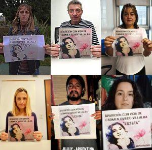 """Parlamentarios y candidatos de Izquierda Socialista en el FIT se sumaron a la Campaña Internacional #¿Dónde está """"""""Lichita""""""""? #eranniñas"""