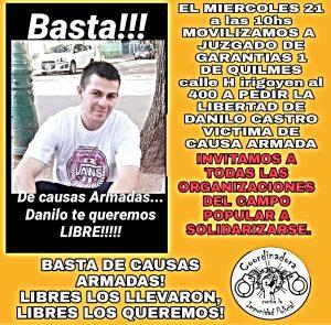 Libertad a Danilo Castro