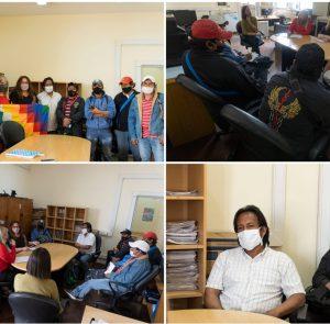 Reunión de las comunidades Wichís con el Ministerio de Desarrollo Social