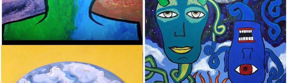 DelirArte: muestra colectiva de pintura y artes plásticas
