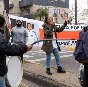 Concentración en la fiscalía de Don Torcuato