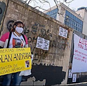 Alan Andrada: 22 meses preso por una causa armada