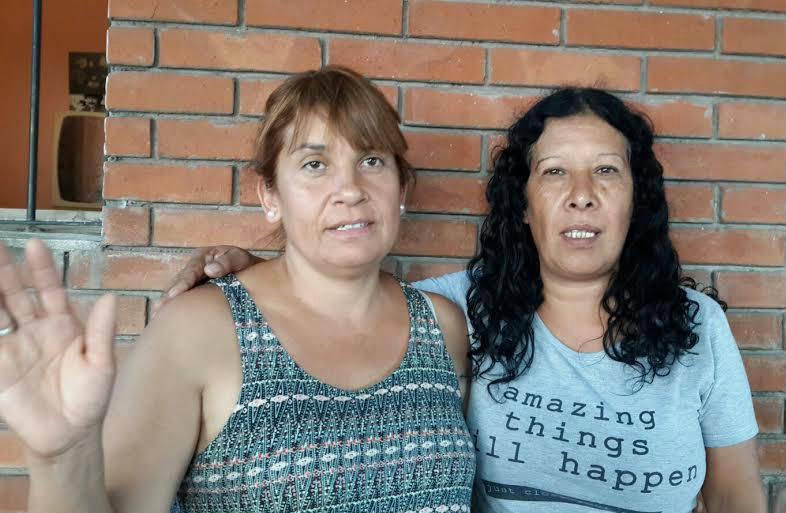 El oficial Agustín Cansino/ Alejandra y Silvia