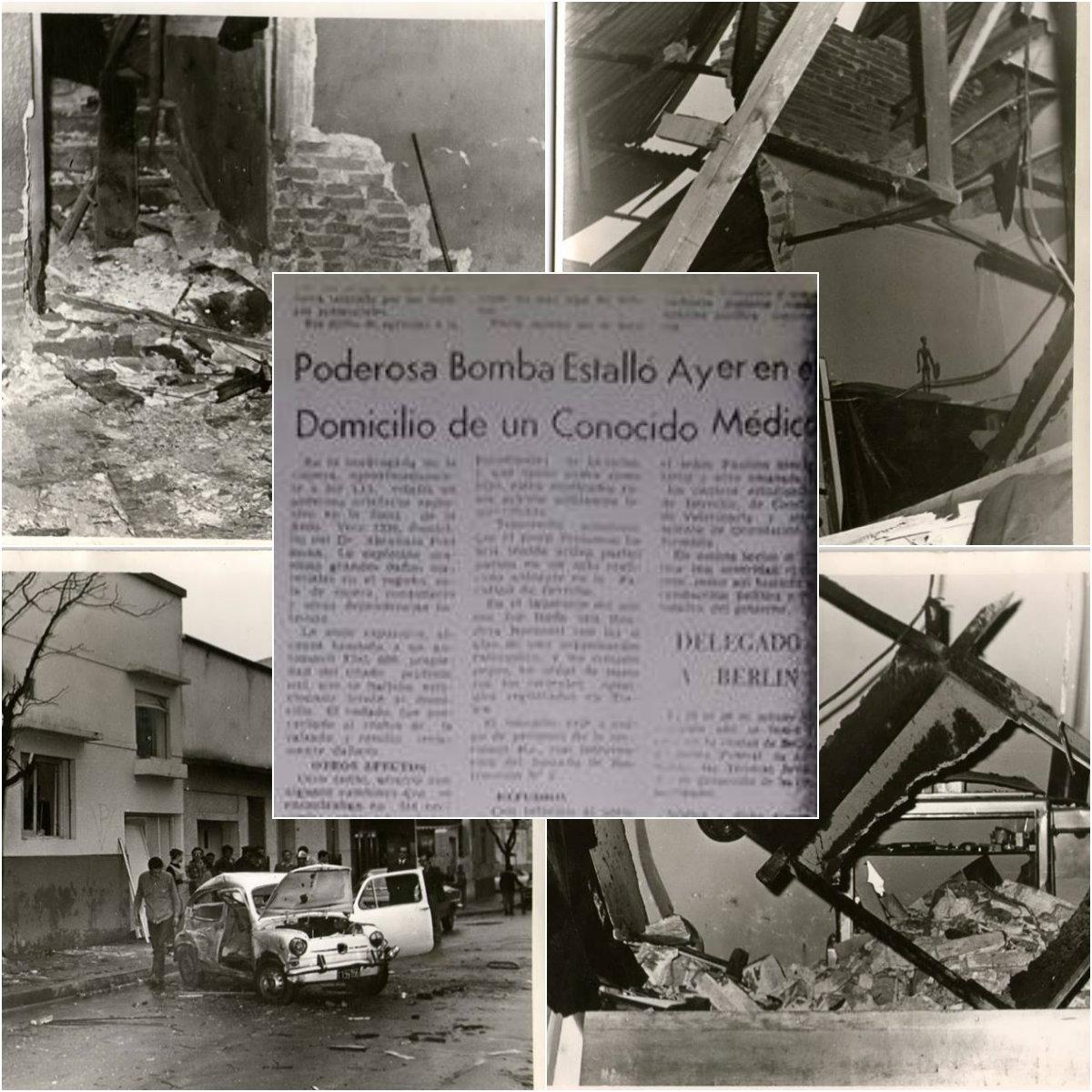 Bomba en casa de la familia Presman