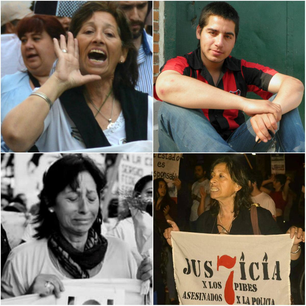 Fotos solidarias: Arriba, derecha: Carmen Rodandelli. Arriba izquierda: Rocío Gutiérrez. Abajo, derecha: Fotografia Doble A. Abajo, izquierda: Agustín Correa.