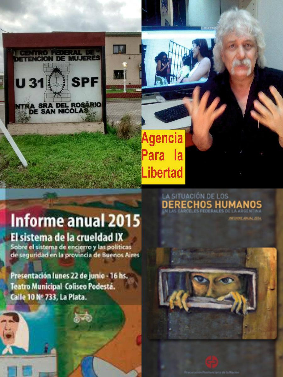 Las notas de la APL están fundamentadas en las denuncias de presos, cautivas, familiares,l a Procuración Penitenciara y la Comision Provincial por la Memoria, entre otras fuentes (Fotos: Jorge Arranz)