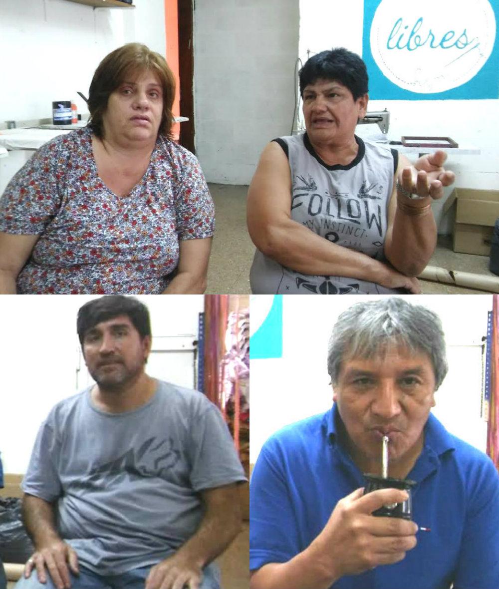 Andre Casamento, Elvira Meza, Claudio Castaño y Alfredo Cuellar