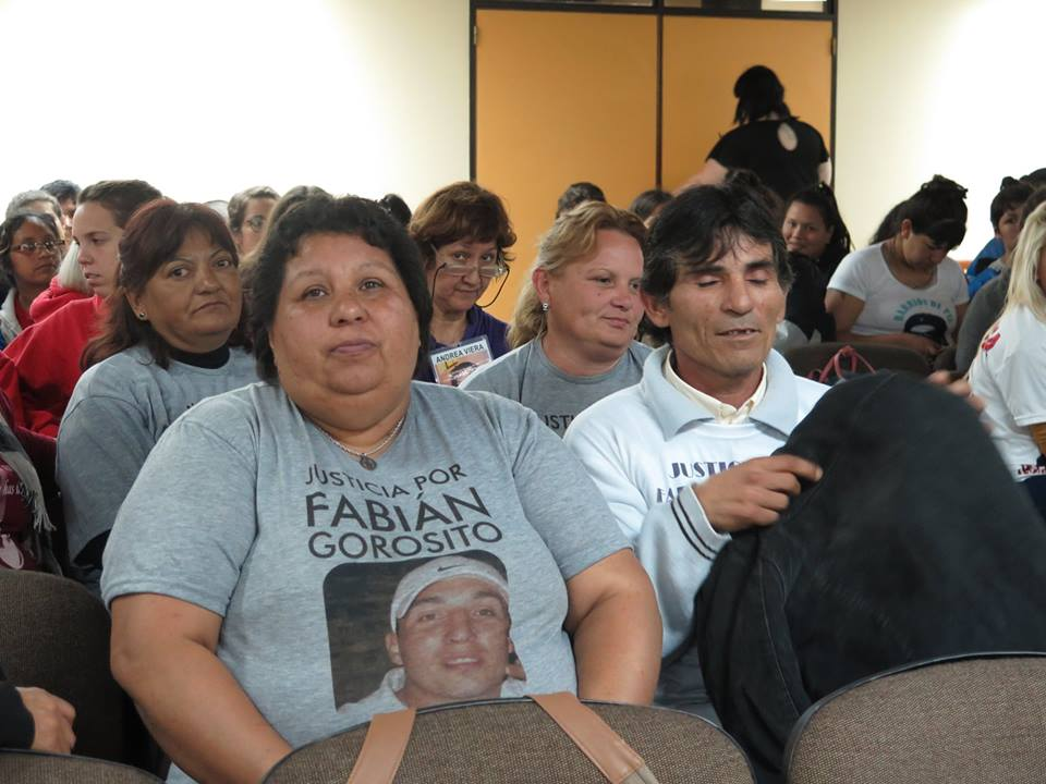 María Viera durante el juicio (Foto: Juan Cicale)