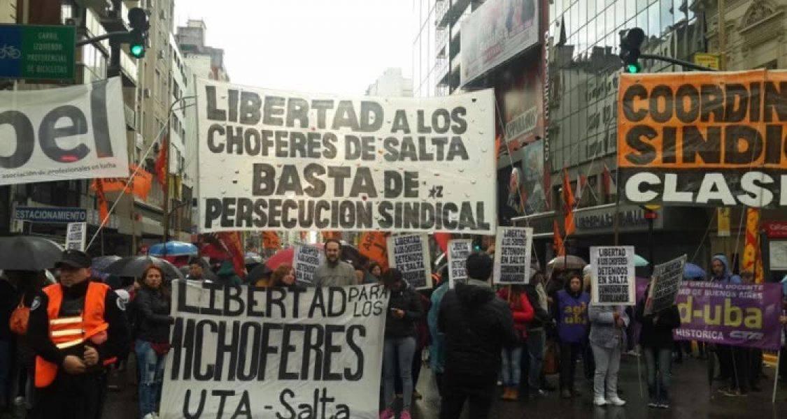 Movilización en Buenos Aires