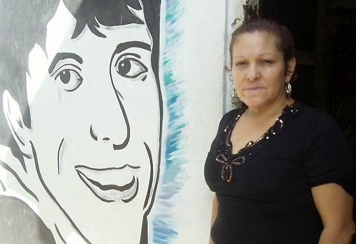 Cine/debate con Mónica Raquel, mamá de Luciano Arruga- 15/8 -18 horas-  Biblioteca Menéndez,  - Organiza: Encuentro Memoria Verdad y Justicia de Pergamino