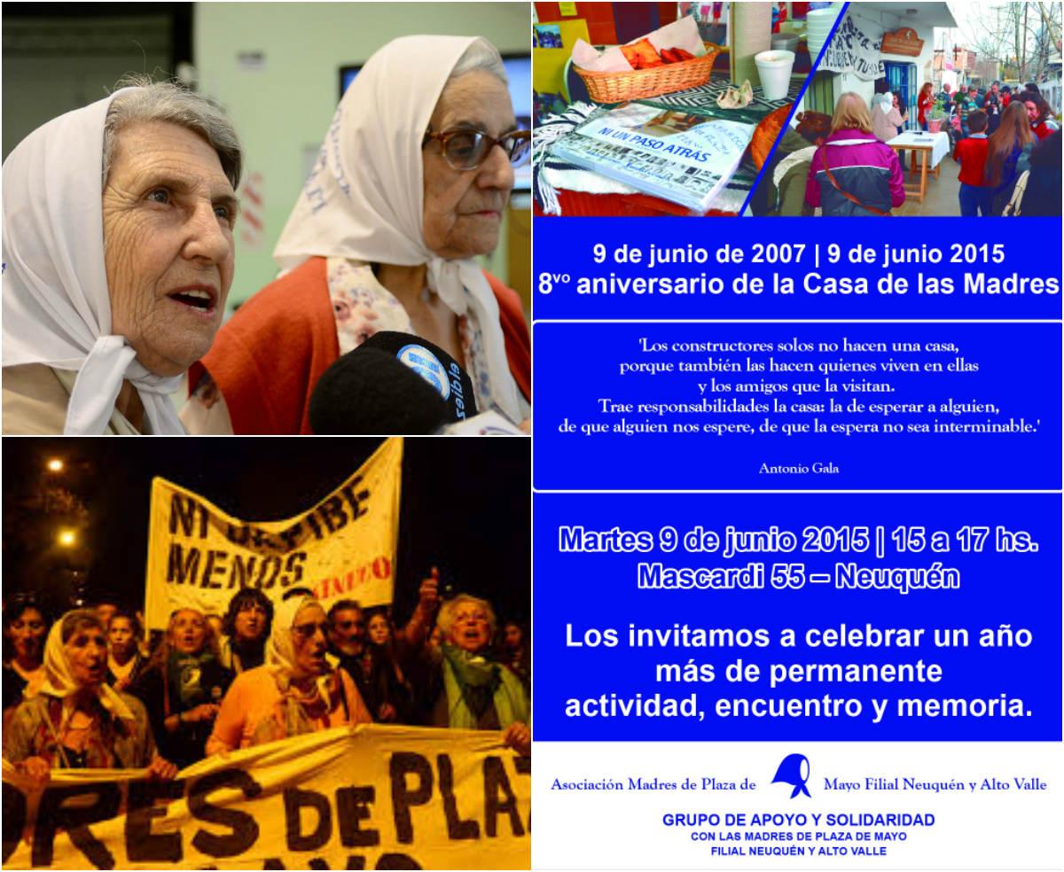8º Aniversario de la Casa de las Madres de Plaza de Mayo Filial Neuquén y Alto Valle