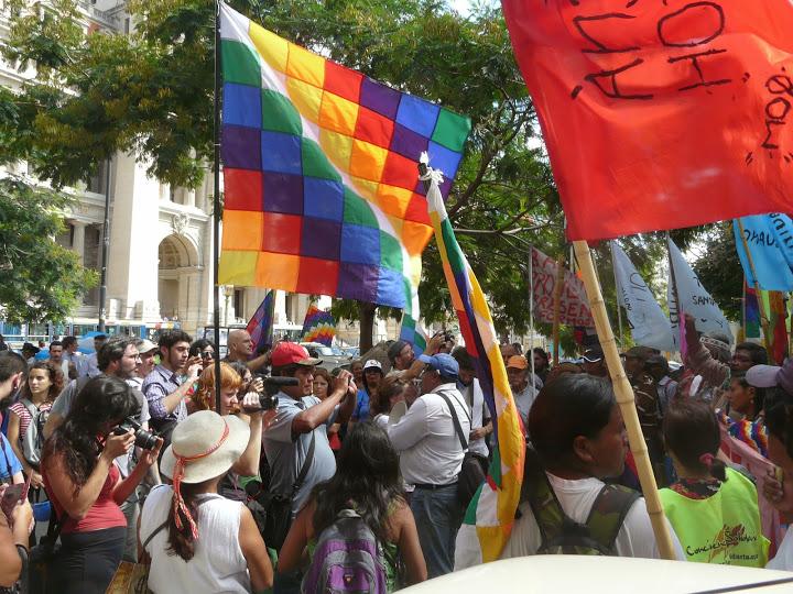 Legisladores nacionales reclamarán a la presidenta que reciba a las comunidades indígenas