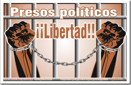25/4 - 17 horas- Acto por Día de la Presa y el Preso Políticos- Sindicato de Farmacia: Rincón 1044 Caba-