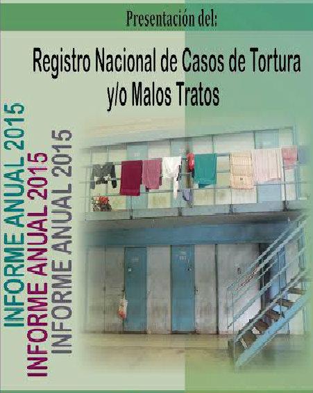 Presentación del Registro Nacional de Casos de Tortura y/o Malos Tratos